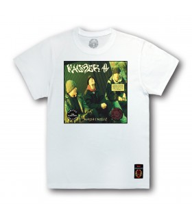 Koszulka KALIBER 44 - Magia i Miecz (Black Vinyl Edition) biała (PREORDER)