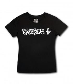 Damska Koszulka Kaliber 44 - Kaliber 44 czarna [BASIC] (PREORDER)
