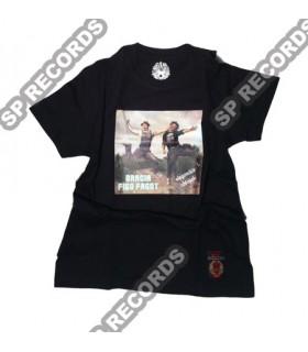 Koszulka Bracia Figo Fagot - Eleganckie chłopaki czarna