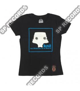 Damska koszulka KNŻ - Las Maquinas de la Muerte Czarna