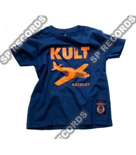 Dziecięca Koszulka KULT - Kazelot JUNIOR granatowa
